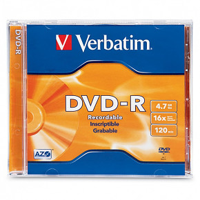 DVD-R VERBATIM JEWEL