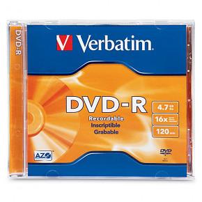 DVD-R VERBATIM JEWEL