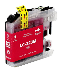 Alternativní inkoustová cartridge s: BROTHER LC-223 Magenta (10ml)