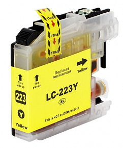 Alternativní inkoustová cartridge s: BROTHER LC-223 Yellow (10ml)