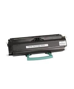 Kompatibilní laserový toner s: LEXMARK X203 Black (2.500str.) - X203A11G