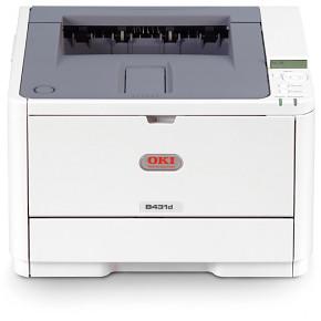 Tiskárna Oki B431dn A4 38ppm 1200x1200 dpi USB LPT PCL LAN (BAZAR)