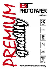 BT fotopapír magnetický lesklý A4 (5listů)
