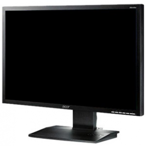 "22"" LCD monitor ACER B223W chrome/silver"