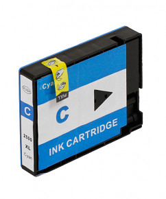 Alternativní inkoustová cartridge s: CANON PGI-2500 XL Cyan (20ml)