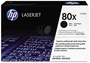 Originální laserový toner HP CF280X Black