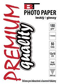 BT fotopapír lesklý 13x18 - 180g (50listů)