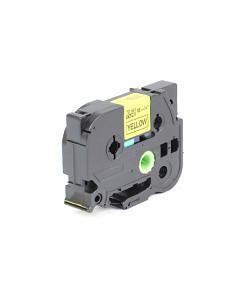 Kompatibilní laminovaná TZ páska BROTHER TZE-641 žlutá / černá - 18mm