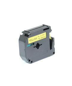 Kompatibilní laminovaná páska BROTHER MK-621 žlutá / černá - 9mm