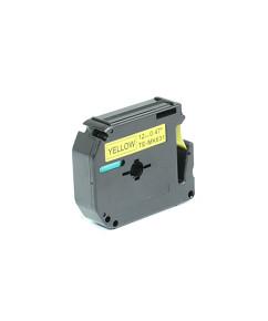 Kompatibilní laminovaná páska BROTHER MK-631 žlutá / černá - 12mm