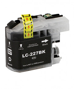 Alternativní inkoustová cartridge s: BROTHER LC-227 Black (30ml)