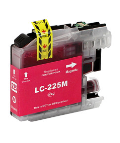 Alternativní inkoustová cartridge s: BROTHER LC-225 Magenta (16ml)