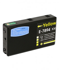 Kompatibilní inkoustová cartridge s: EPSON T789440 Yellow (36ml)