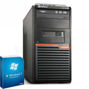 PC GATEWAY DT55 AMD X2 250 3,00GHz, 4096RAM, 320GB, DVDRW, WIN7