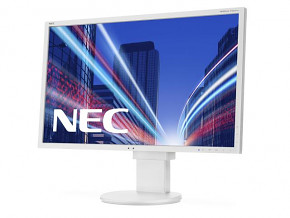 "22"" LCD NEC EA223WM White (DVI, VGA, DISPLAY PORT, USB, REPRO) - BAZAR"