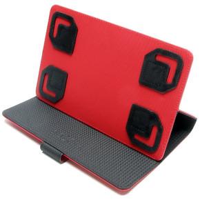 """FIXED Pouzdro/Stojánek twoFACE univerzální pro širokoúhlé 8"""" tablety červené"""