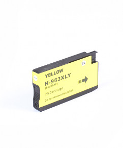 Kompatibilní inkoustová cartridge s: HP 953XL Yellow (1.600str.) - F6U18AE