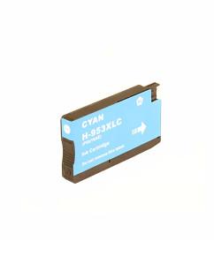 Kompatibilní inkoustová cartridge s: HP 953XL Cyan (1.600str.) - F6U16AE