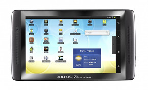 "Archos 5"" Internet tablet 250GB HDD"