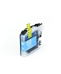 Kompatibilní inkoustová cartridge s: BROTHER LC-525 XL Cyan (16ml)