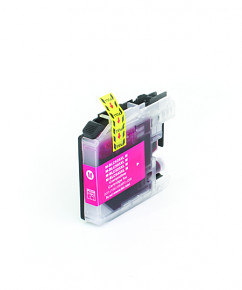 Kompatibilní inkoustová cartridge s: BROTHER LC-525 XL Magenta (16ml)