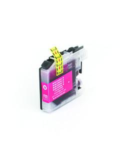 Kompatibilní inkoustová cartridge s: BROTHER LC-525 XL Magenta (16ml)