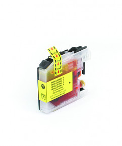 Kompatibilní inkoustová cartridge s: BROTHER LC-525 XL Yellow (16ml)