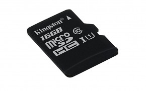 16GB microSDHC Kingston UHS-I U1 45R/10W