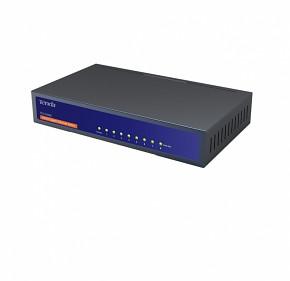 Tenda TEG1008D 8-port Gigabit Switch, Fanless, Kov