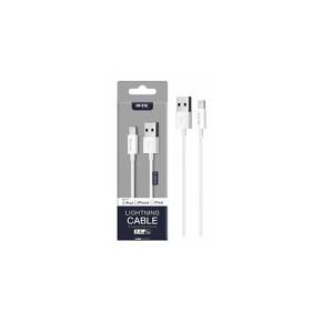 Datový kabel PLUS K3600 lightning, MFI, bílý