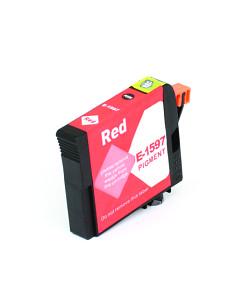 Kompatibilní inkoustová cartridge s: EPSON T1597 Red (17ml) - C13T15974010