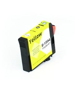 Kompatibilní inkoustová cartridge s: EPSON T1594 Yellow (17ml) - C13T15944010