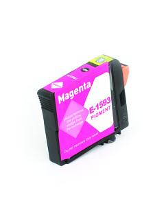 Kompatibilní inkoustová cartridge s: EPSON T1593 Magenta (17ml) - C13T15934010