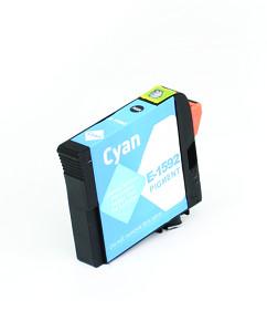 Kompatibilní inkoustová cartridge s: EPSON T1592 Cyan (17ml) - C13T15924010