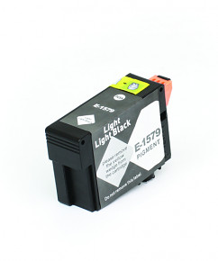 Kompatibilní inkoustová cartridge s: EPSON T1579 Light Light Black (30ml) - C13T15794010