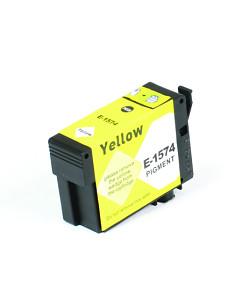Kompatibilní inkoustová cartridge s: EPSON T1574 Yellow (30ml) - C13T15744010