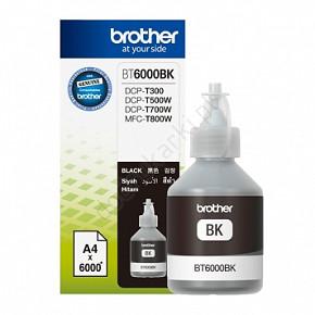 Lahvinka s inkoustem BROTHER BT-6000BK (inkoust black, 6000 str.)