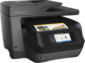 HP All-in-One OfficeJet Pro 8725 (A4, USB 2.0, Ethernet, WifiPrint/Scan,Copy) M9L80A