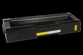 Kompatibilní laserový toner s: RICOH SP C250 / C260 Yellow - 407546