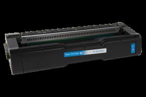 Kompatibilní laserový toner s: RICOH SP C250 / C260 Cyan - 407544