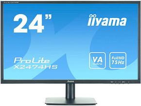"""24""""LCD iiyama X2474HS-B1"""
