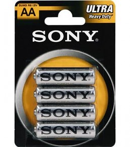 SONY Baterie tužkové SUM3NUB4A, 4ks R6/AA