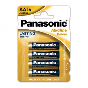 Panasonic Alkaline AA Power 4ks