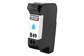 Kompatibilní inkoustová cartridge s: HP č.40 (51640) CYAN