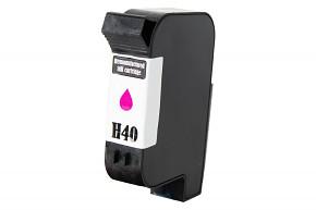 Kompatibilní inkoustová cartridge s: HP č.40 (51640) MAGENTA