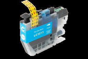 Kompatibilní inkoustová cartridge s: BROTHER LC-3213 Cyan