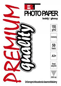 BT fotopapír oboustranný lesklý A3+ - 155g (50listů)
