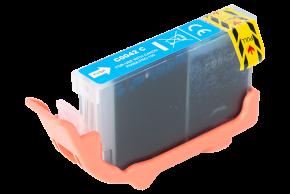 Kompatibilní inkoustová cartridge s : Canon CLI-42 Cyan (14ml)