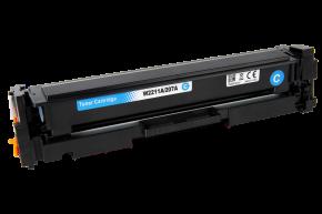 Kompatibilní laserový toner s: HP W2211A/207A Cyan (1.250str.) - bez čipu